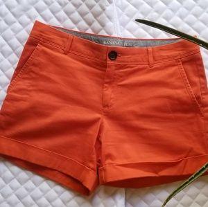 Banana Republic Orange Shorts